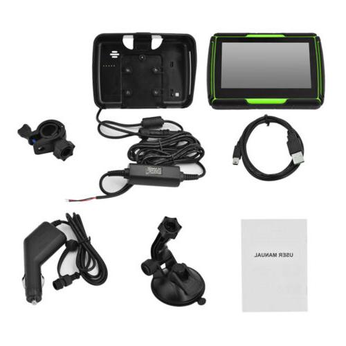 4.3''Touch GPS System Sat 8GB Map