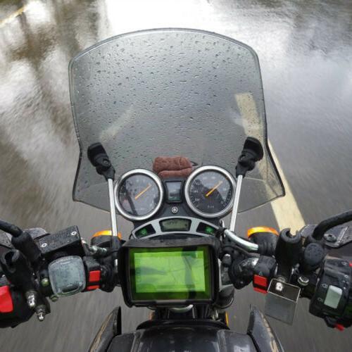 """4.3"""" Touch Screen Waterproof Motorcycle Car GPS Sat NAV 8GB"""