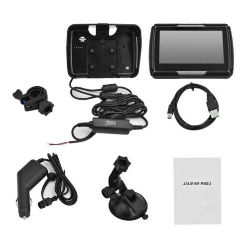 "4.3""Waterproof Touch Car GPS Navigation US"