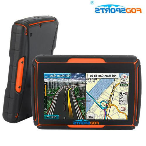 "4.3"" Touch GPS Motorcycle Navigation"