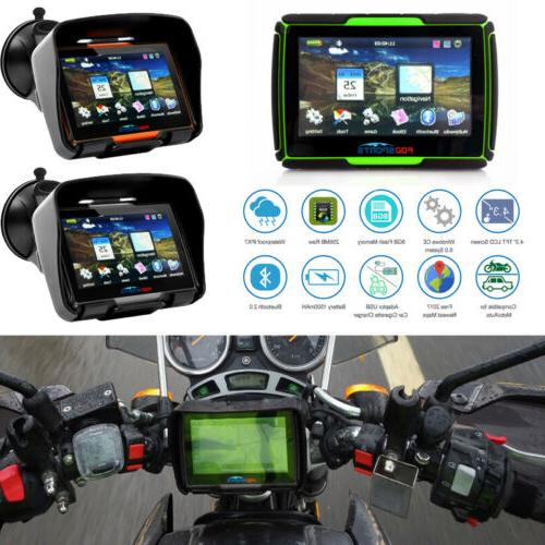 4 3 touch screen waterproof motorcycle car