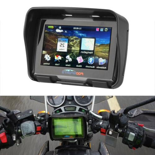 "4.3"" Motorcycle GPS SAT Maps"