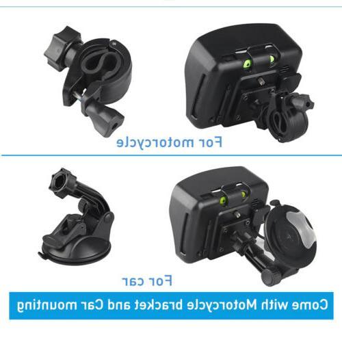 "4.3"" Screen Motorcycle Car Navigation Sat NAV Bluetooth"