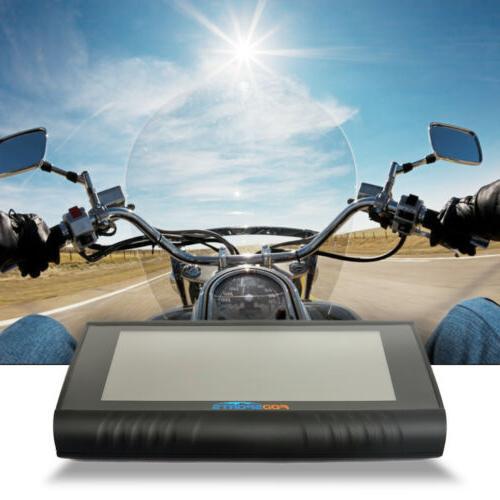 """5.0"""" Motobike Waterproof GPS SAT Maps"""