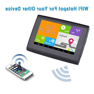 5'' Android Waterproof Car Bluetooth FM 512M 8GB ROM