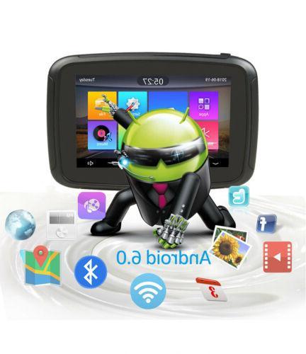 "5"" 6.0 Motorcycle Car GPS SAT Bluetooth"