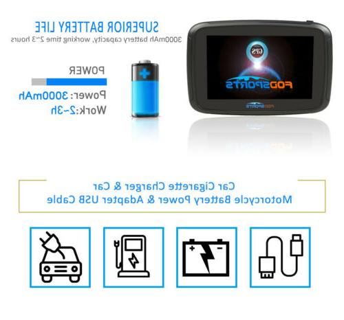 """5"""" Android BT Motorcycle Car SAT 16GB WIFI Bluetooth"""