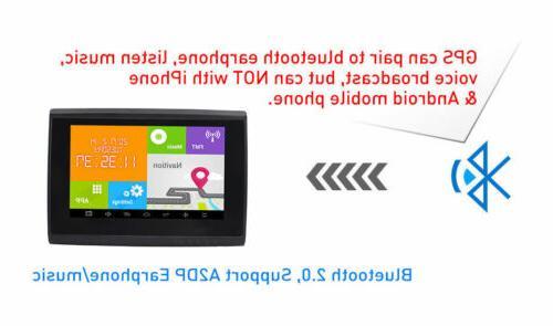 512M Bluetooth Navigation+ Free