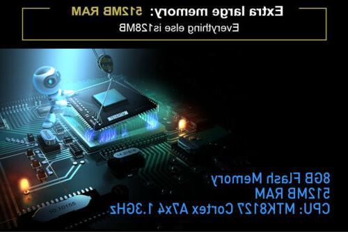 5'' GPS Navigator 512M Motorcycle Car Bluetooth