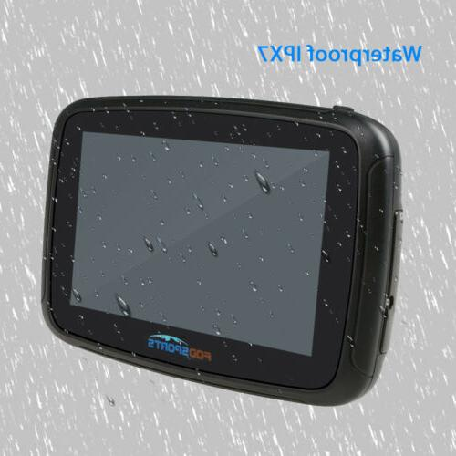 "5"" BT Car Motorcycle GPS"