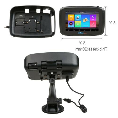 "5"" Blutooth Motorcycle Car Navigation NAV"
