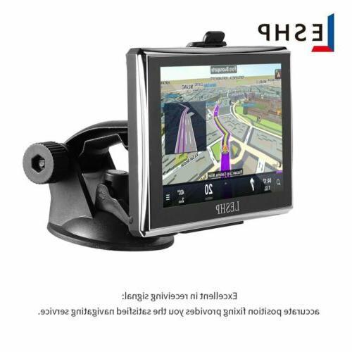 "5"" Car GPS Navigation 8GB Screen SAT NAV Global Maps EK"