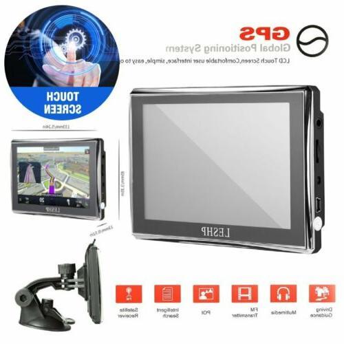 "5"" Car GPS Navigation 8GB Screen SAT NAV + Free Global EK"