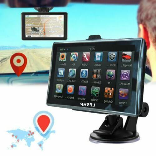 """5"""" Navigation Screen SAT NAV Global Maps"""