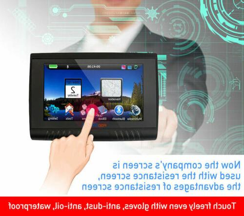 "5"" GPS Bluetooth Navigation Navigator SAT NAV"