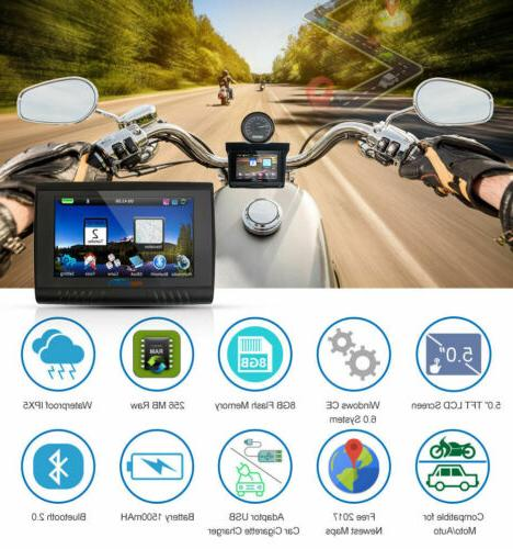 5inch BT Car GPS Navigation Navigator