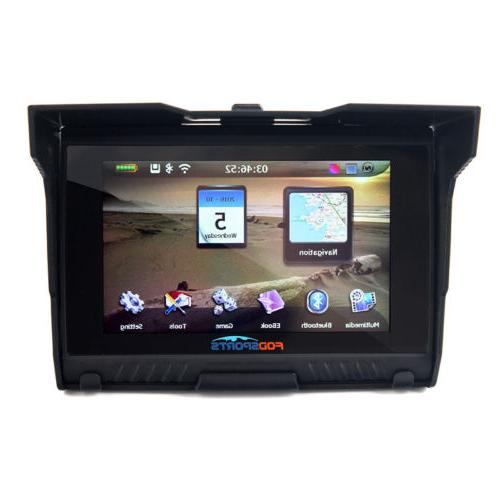 "5"" Motorcycle GPS Bluetooth Navigator Navigation SAT NAV"
