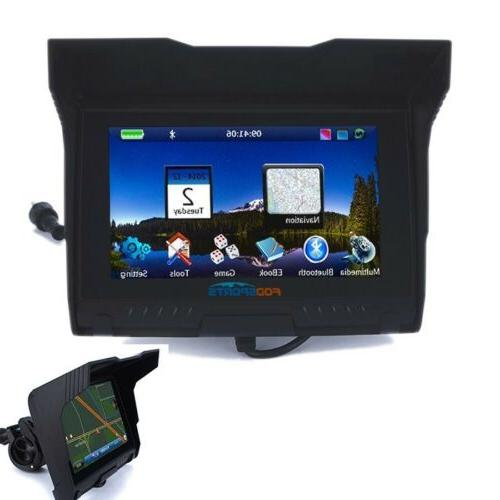Waterproof Bluetooth Motorcycle Navigator Map
