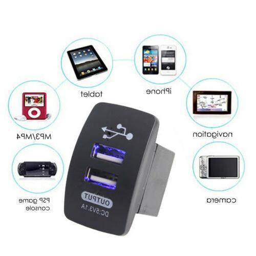 5V 3.1A Motorcycle Car Charging Phone