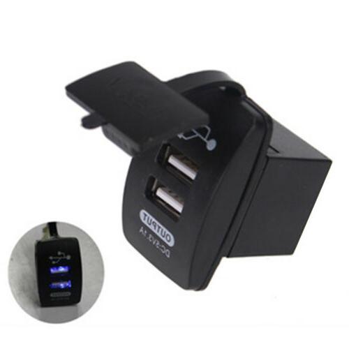 5V USB Motorcycle Charging Adapter Phone