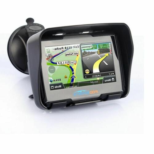 "4.3"" Motorcycle GPS Touch Screen Sat 8GB Map"