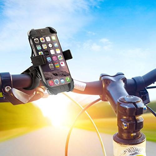Aduro Bike Mount Motorcycle, iPhone X 6 6s 5 Mount for All Smartphones, and Holder