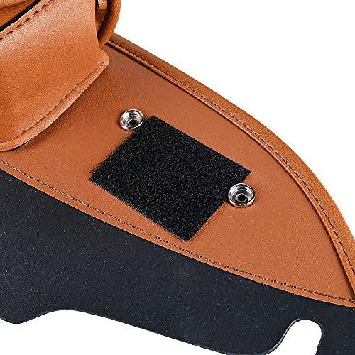 Brown Three-Pocket Pouch For 1996-2013 Touring Street
