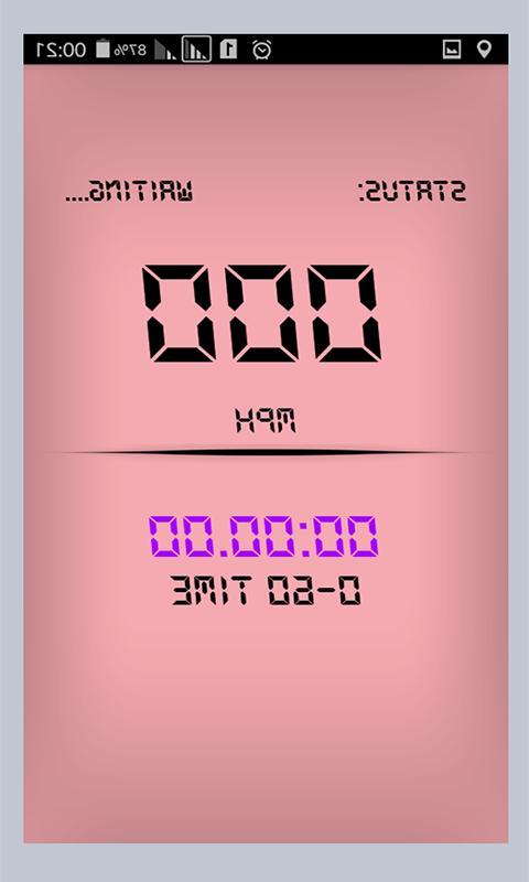 Digital Speedometer Speed