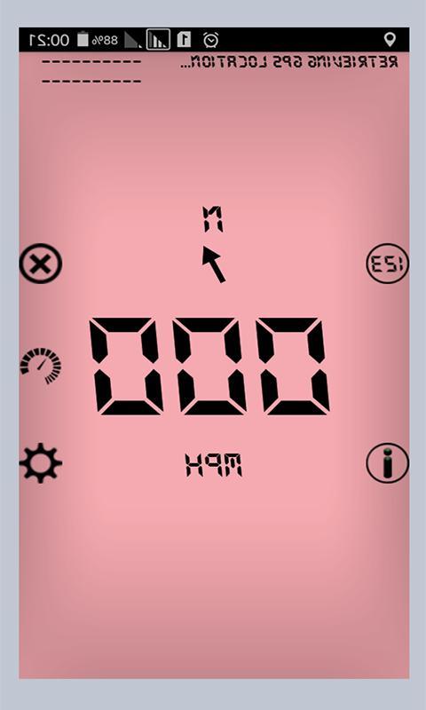 Digital Speedometer Gps Speed