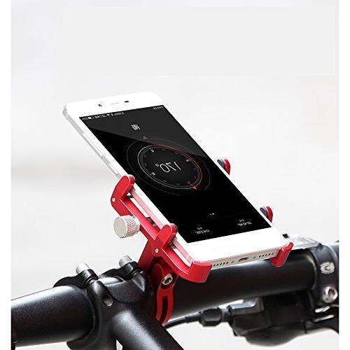 GUB Phone Alloy Bike Phone Holder 360° iPhone X 7s Plus, S7/S6/Note5/4 GPS to 6.5