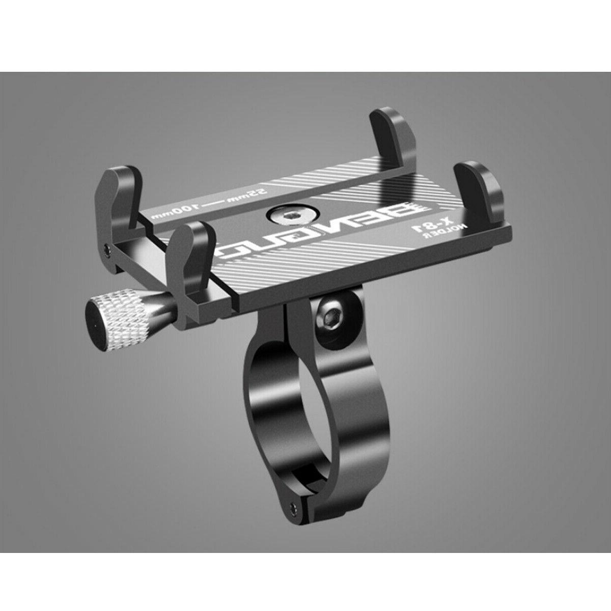 Aluminum Bicycle Holder Alloy Motorcycle Bike Handlebar Cell GPS