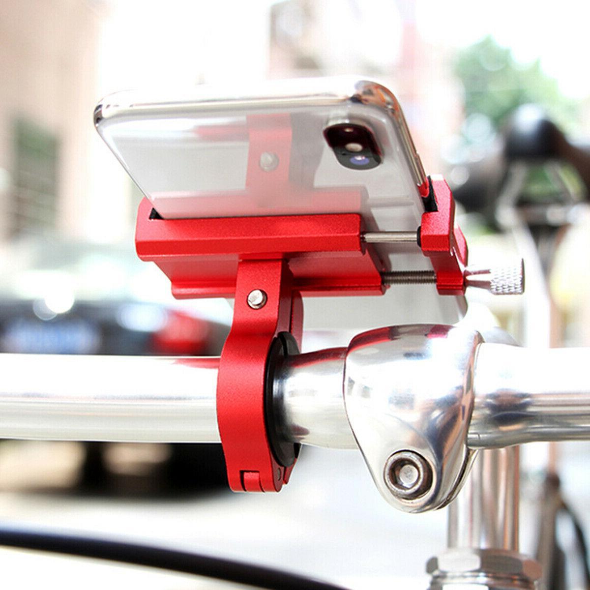 Aluminum Holder Motorcycle Bike Cell Phone GPS
