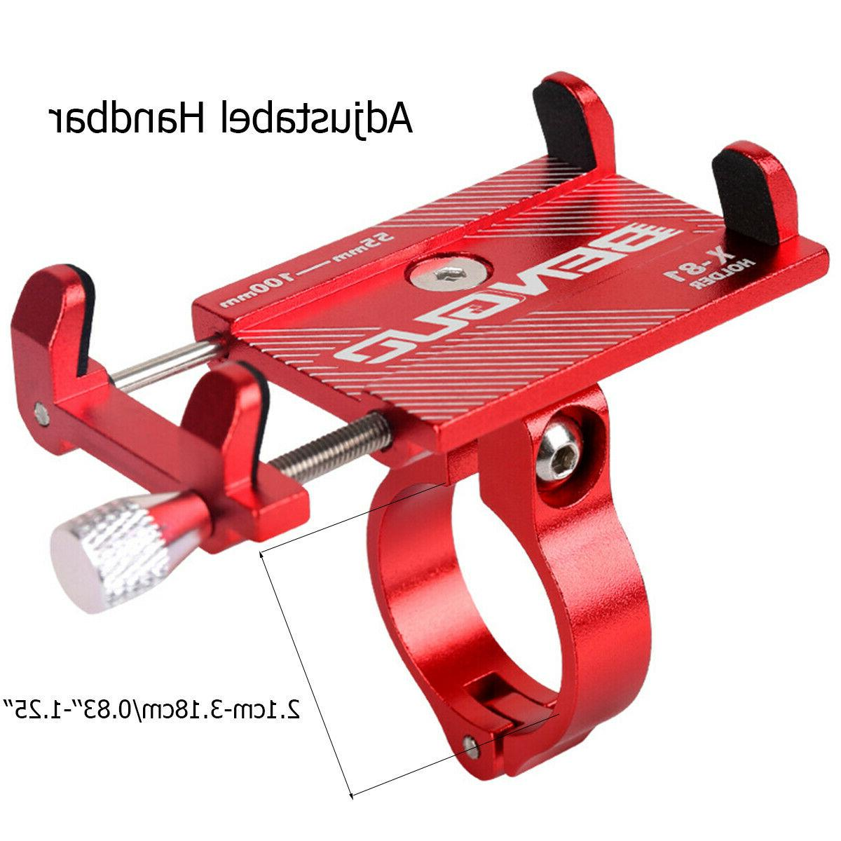 Aluminum Bicycle Alloy Motorcycle Cell GPS Mount