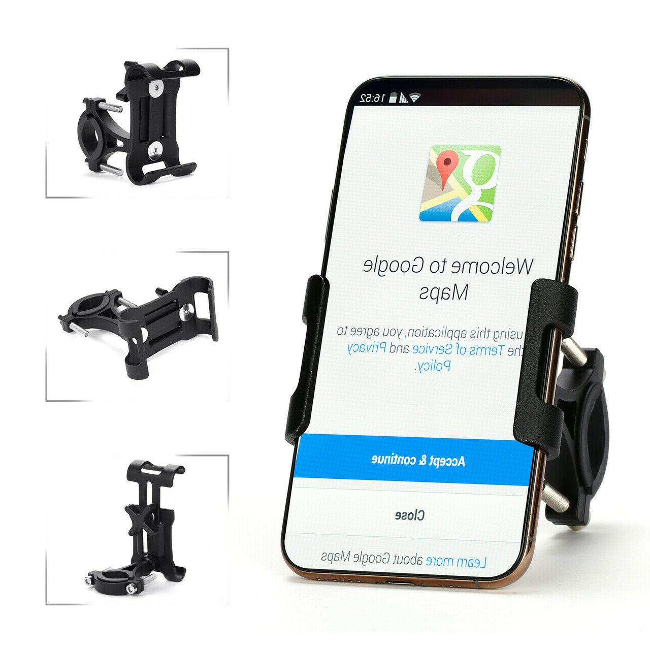 Universal Motorcycle Bike Bicycle Holder Mount MTB Handlebar