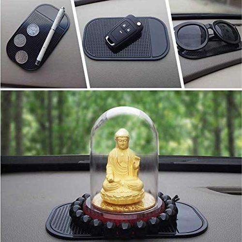 1pcs Holder GPS Mat Slip Pens MP4 Pad Car Dash Place Holder Car Styling