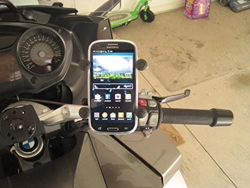Ram Mounts Rail Base and Cell Phone Coated