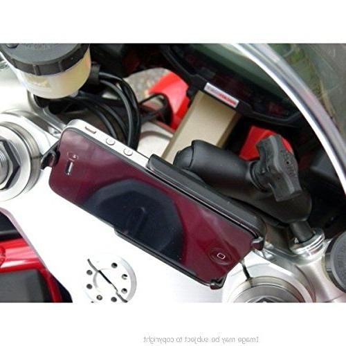 25mm Ball Motorcycle Mount Base for Ducati 848 evo