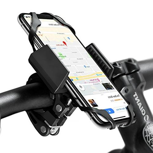 Widras Phone Mount and Holder 2nd iPhone 7s 6s 5 5s Plus S9 S7 Note or Smartphone Mountain Road Bicycle Handlebar Cradle