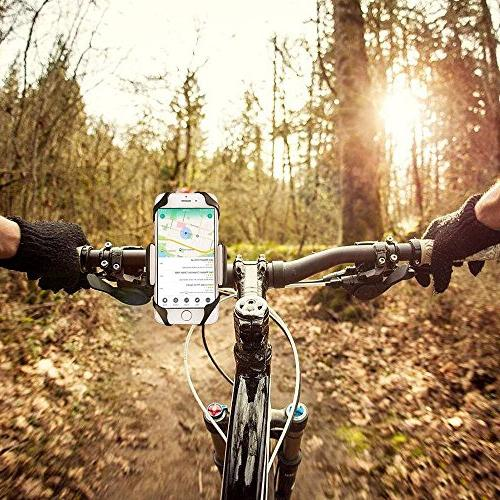Bike PTUNA Bike Mount Phone Motorcycle Phone Mount Bike Adjustable X/8/8s/7/7Plus/5s/6s/6 Plus, Plus/S7 Edge