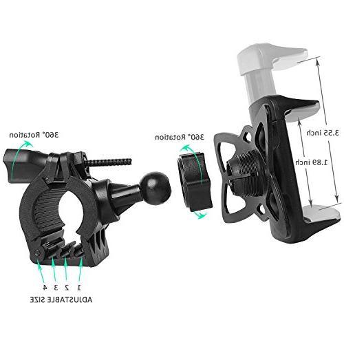 Bike PTUNA Mount Phone Holder Phone Adjustable X/8/8s/7/7Plus/5s/6s/6 Plus, Galaxy Plus/S7