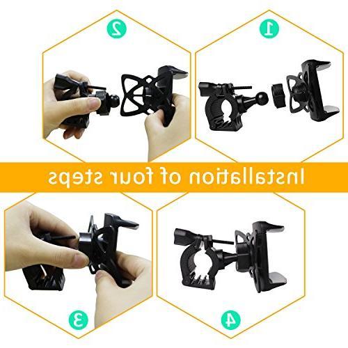 Bike Bike Mount Holder Phone Bike Adjustable Universal X/8/8s/7/7Plus/5s/6s/6 Plus, S9/S8/S8 Plus/S7 Edge