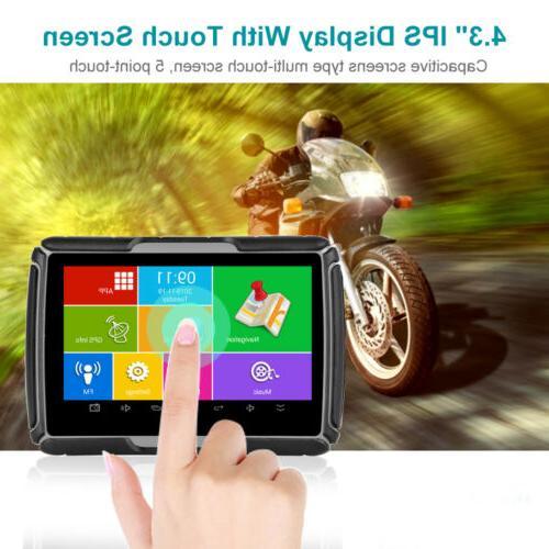 "4.3"" GPS Navigation Android WiFi DVR Camera"