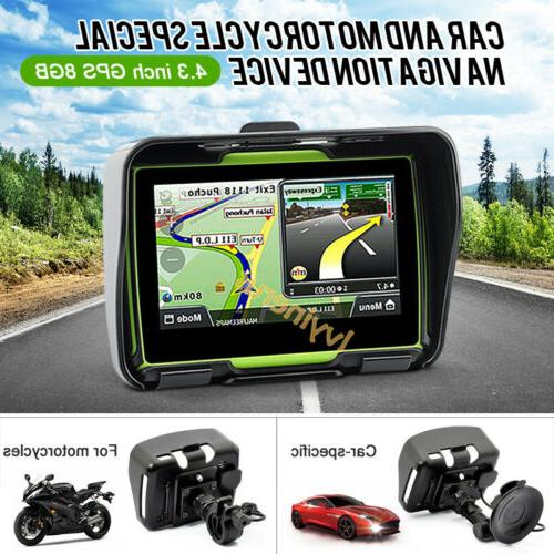 Bluetooth Car Nav GPS Touch Screen8GB Map