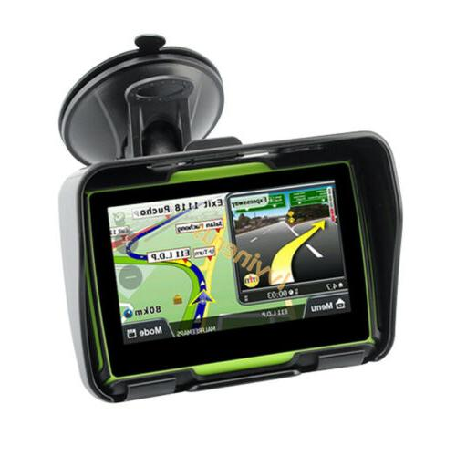 Bluetooth Navigation Sat Nav 4.3""