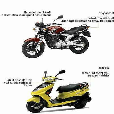 Car Motorcycle GPS Tracker Real