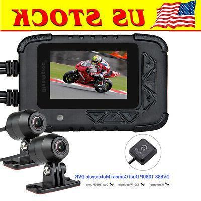 dv688 motorcycle waterproof 1080p hd 2 4