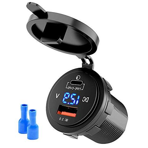 fast usb c car charger