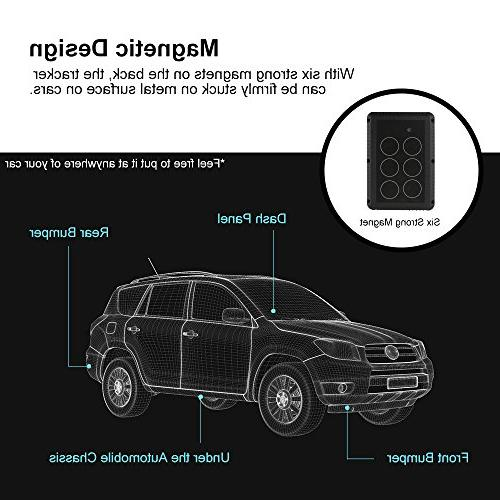 GPS Tracker Waterproof GPS Tracker, Days Standby Time Tracking Device Locator for Trucks