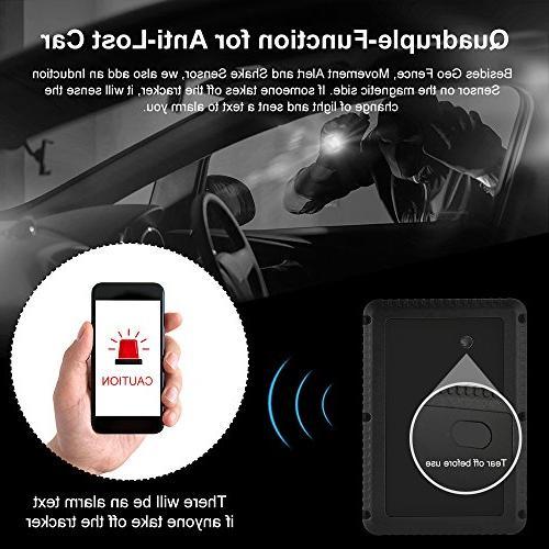 GPS 10000mAh Waterproof GPS Days Time for Cars Trucks Vehicles