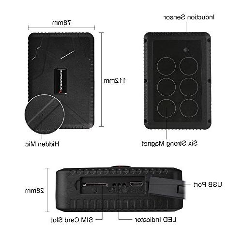 GPS Tracker 10000mAh Waterproof GPS Days Standby Time Tracking Device Locator for Trucks Vehicles